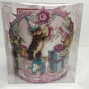 Happy Birthday Party Crown Set of 12 Victorian Cat